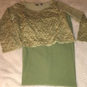 Emma James Sage Green Outfit Top And Pants